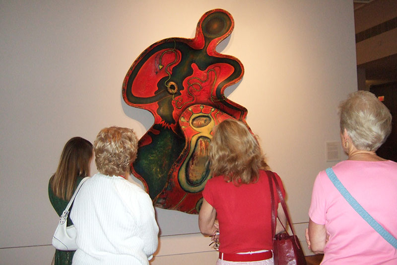 docents at cameron art museum